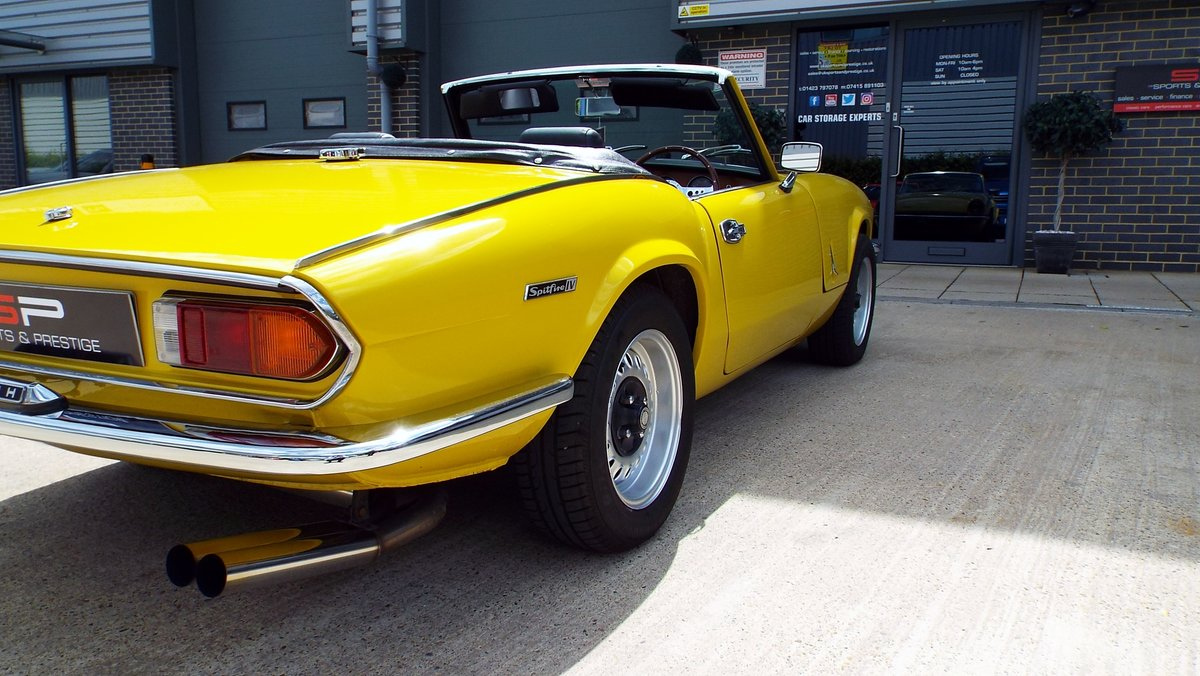 1972  Triumph Spitfire Mark IV Great Example  For Sale (picture 5 of 6)