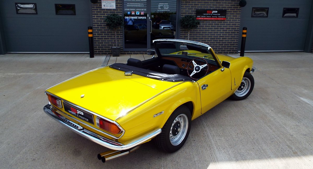 1972  Triumph Spitfire Mark IV Great Example  For Sale (picture 6 of 6)
