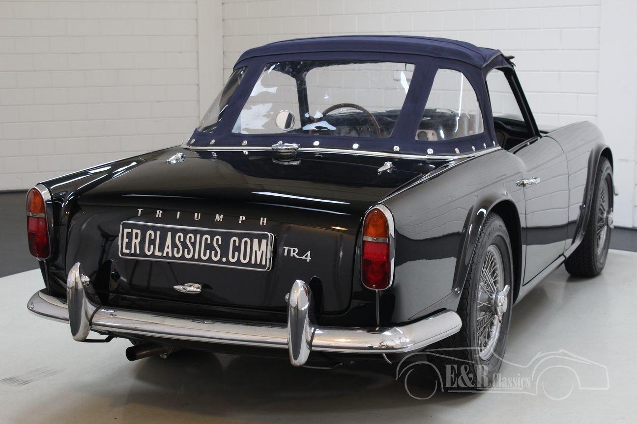 Triumph TR4 Overdrive 1963 Restored For Sale (picture 6 of 6)