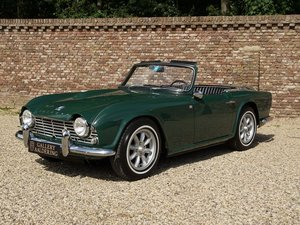 1963 Triumph TR4 overdrive, restored condition For Sale