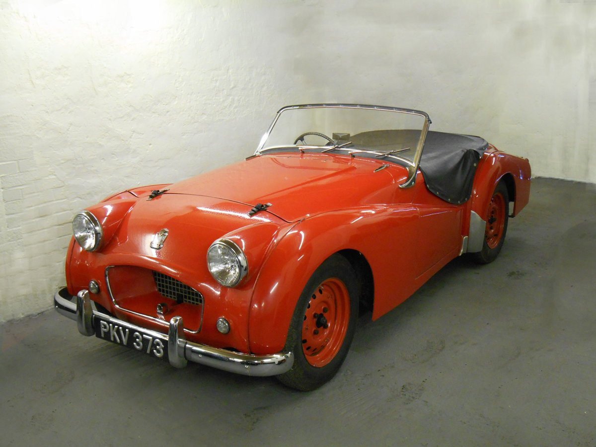 1955 Triumph TR2 Ex-Works Le Mans  For Sale (picture 1 of 6)