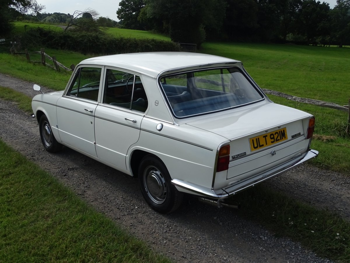 1973 Lovely Triumph Toledo 1300,reliable and affordable classic. SOLD (picture 3 of 6)