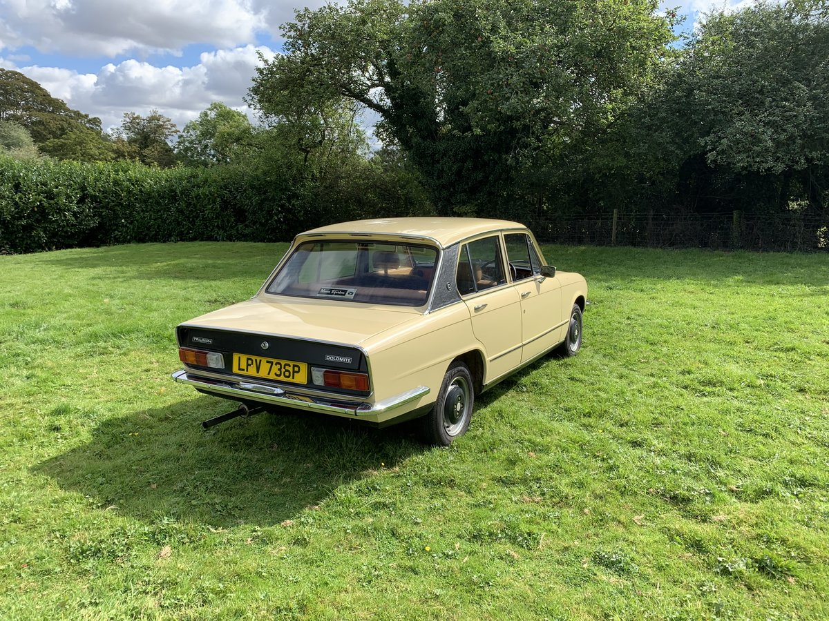 1975 Triumph Dolomite 1850cc  For Sale (picture 2 of 6)