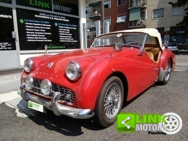 1961 Triumph TR3A Bocca Larga For Sale (picture 1 of 6)