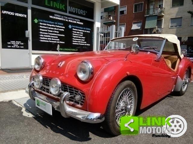 1961 Triumph TR3A Bocca Larga For Sale (picture 2 of 6)
