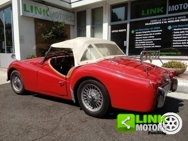 1961 Triumph TR3A Bocca Larga For Sale (picture 3 of 6)