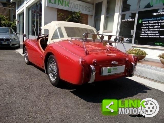 1961 Triumph TR3A Bocca Larga For Sale (picture 4 of 6)