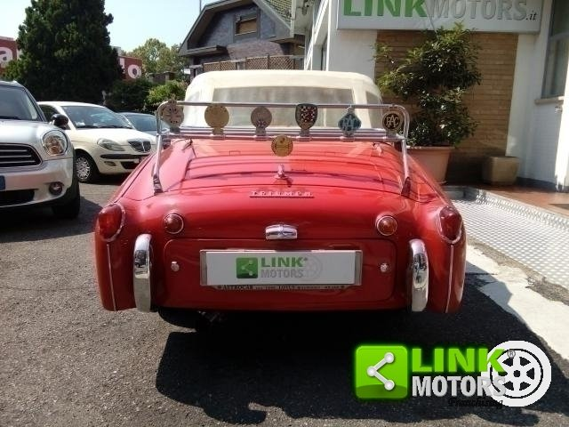 1961 Triumph TR3A Bocca Larga For Sale (picture 5 of 6)