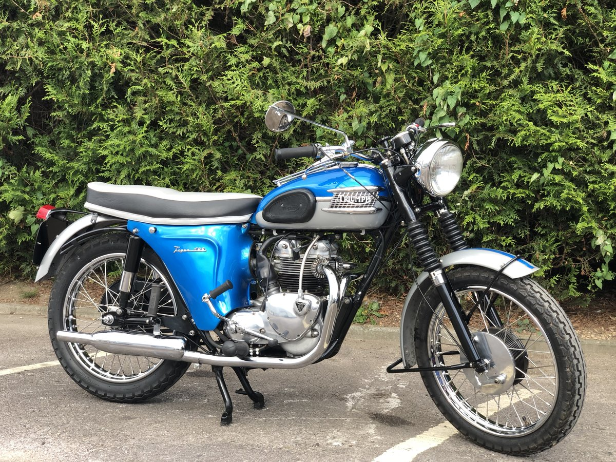 Triumph T100SS 1962 500cc Restored Matching Numbers For Sale (picture 1 of 6)