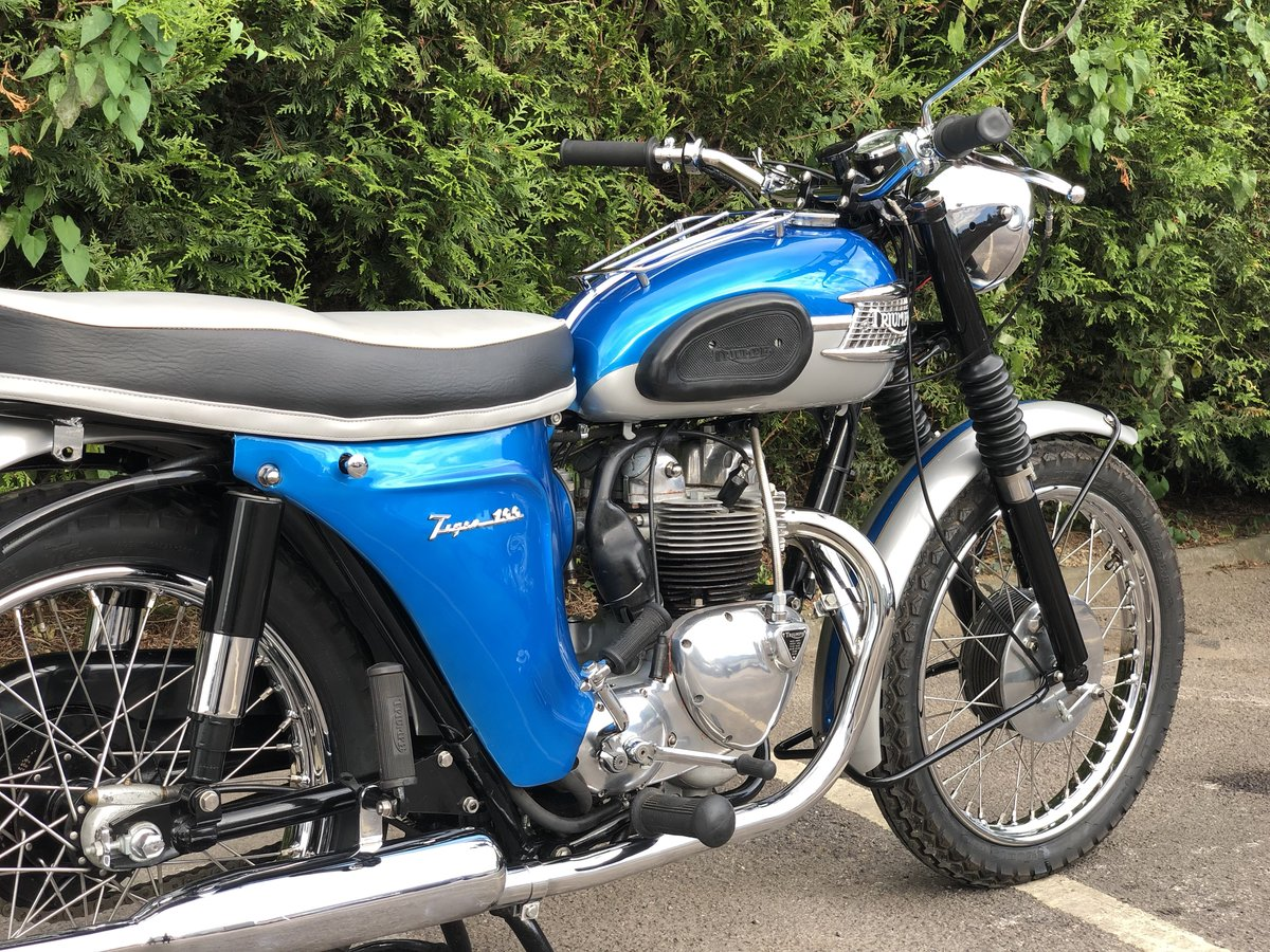 Triumph T100SS 1962 500cc Restored Matching Numbers For Sale (picture 5 of 6)
