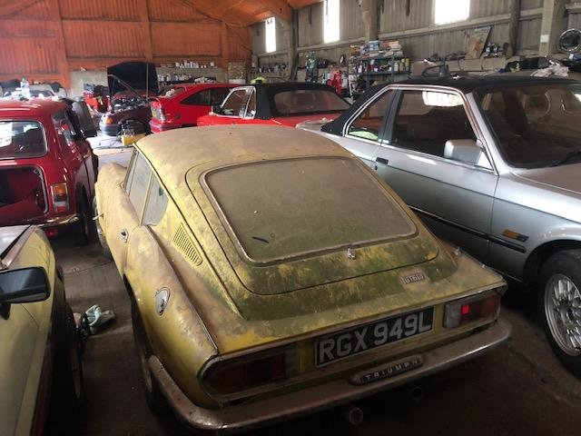 1973 Triumph Gt6 yellow 62k genuine barn find SOLD (picture 3 of 6)