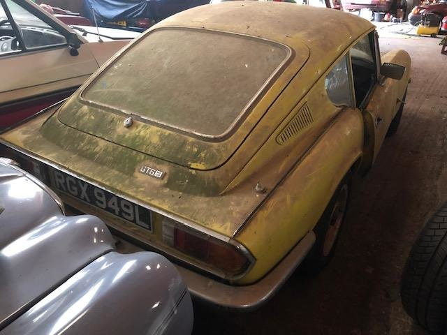 1973 Triumph Gt6 yellow 62k genuine barn find SOLD (picture 4 of 6)