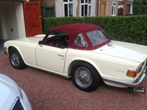 1970 TRIUMPH TR6 OVERDRIVE  For Sale