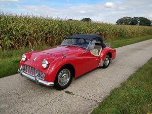 1960 Triumph TR3 '60 SOLD