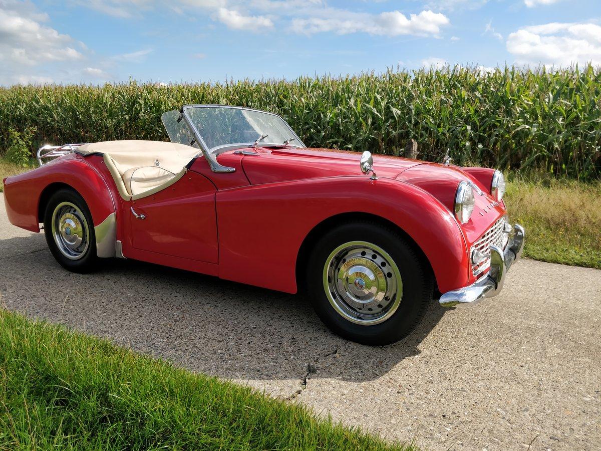 1960 Triumph TR3 '60 For Sale (picture 4 of 6)