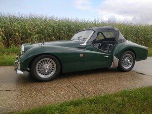 1962 Triumph TR3A '62 BRG SOLD