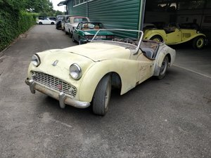 1962 Triumph TR3B '62 Rare lhd For Sale