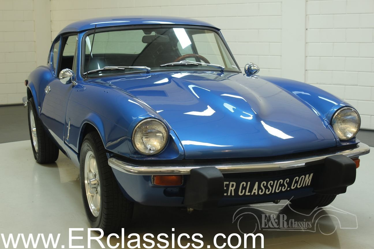Triumph GT6 MK3 1973 Blue For Sale (picture 1 of 6)