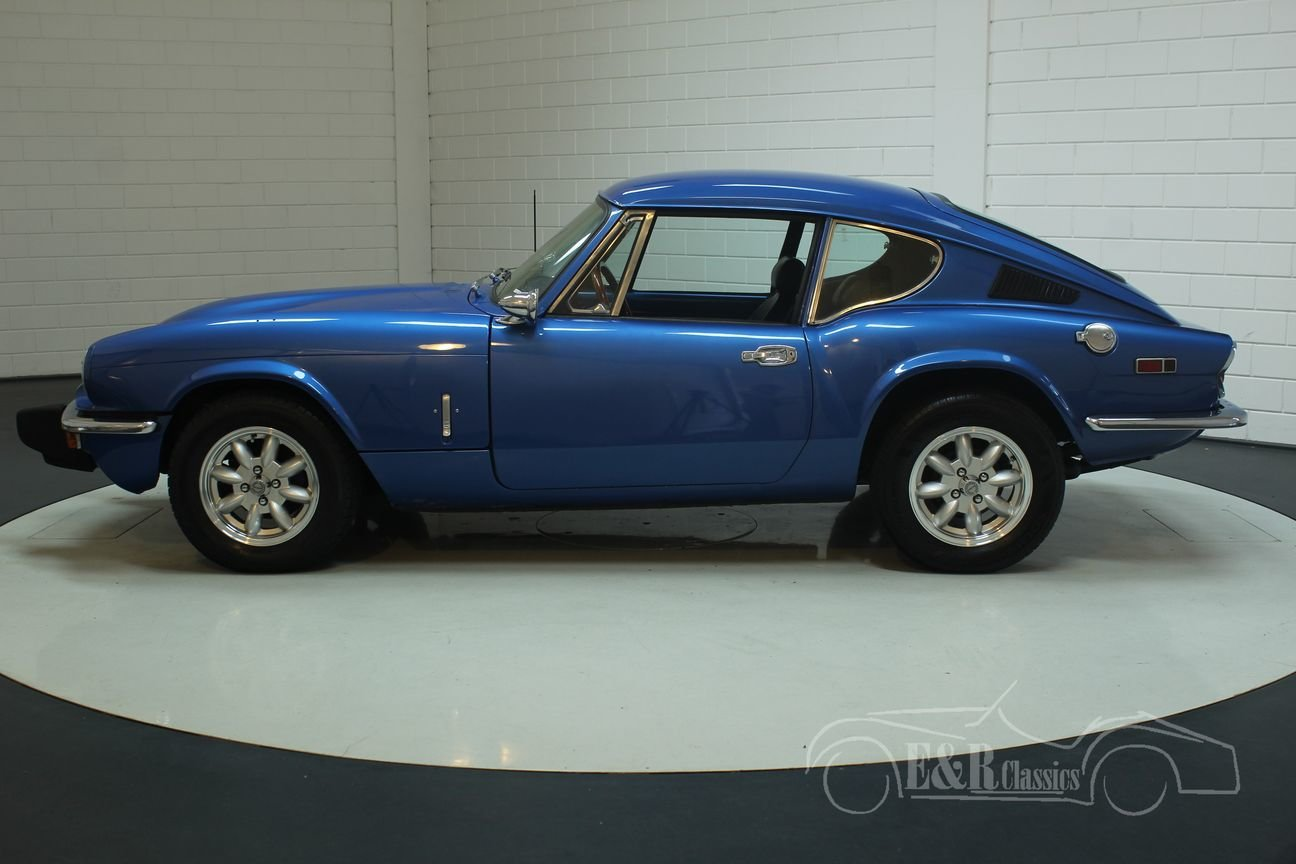 Triumph GT6 MK3 1973 Blue For Sale (picture 4 of 6)