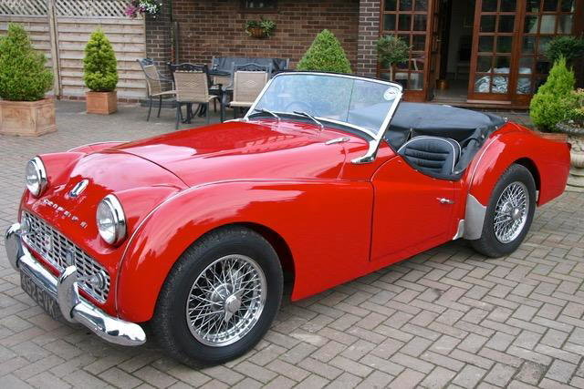 1958 Triumph TR3A For Sale by Auction (picture 1 of 6)