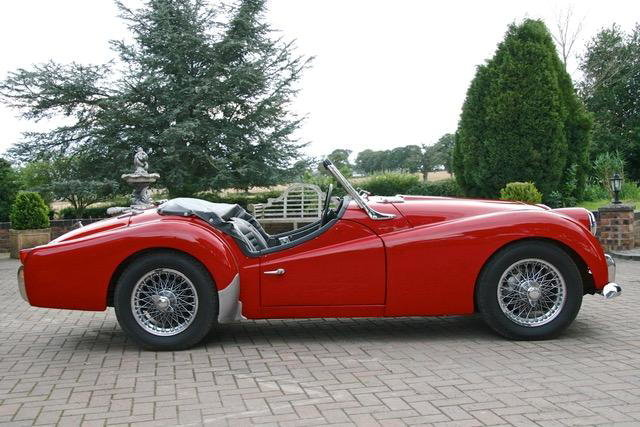 1958 Triumph TR3A For Sale by Auction (picture 2 of 6)