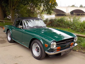 1973 TRIUMPH TR6 125bhp - FULLY RESTORED - CONCOURS  SOLD