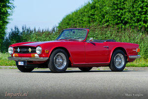 1969 Excellent Triumph TR6 PI with Overdrive LHD For Sale