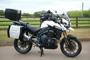 2015 Triumph Tiger Explorer 1215cc ABS 1 owner FULL service histo For Sale