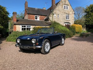 1968  TRIUMPH TR250 RHD BEST OF BREED LOT: 739 Est £34-38,000