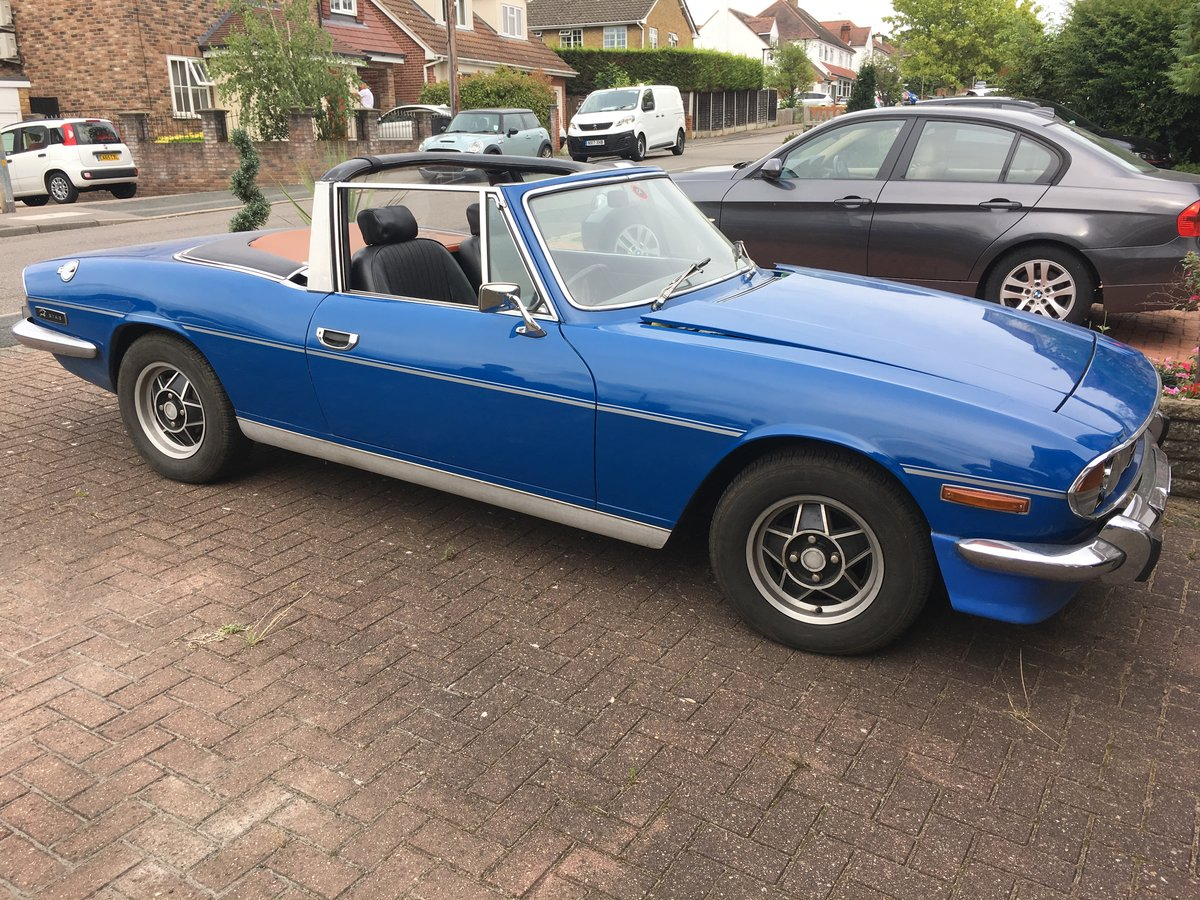 1976 Triumph Stag Automatic For Sale (picture 1 of 6)
