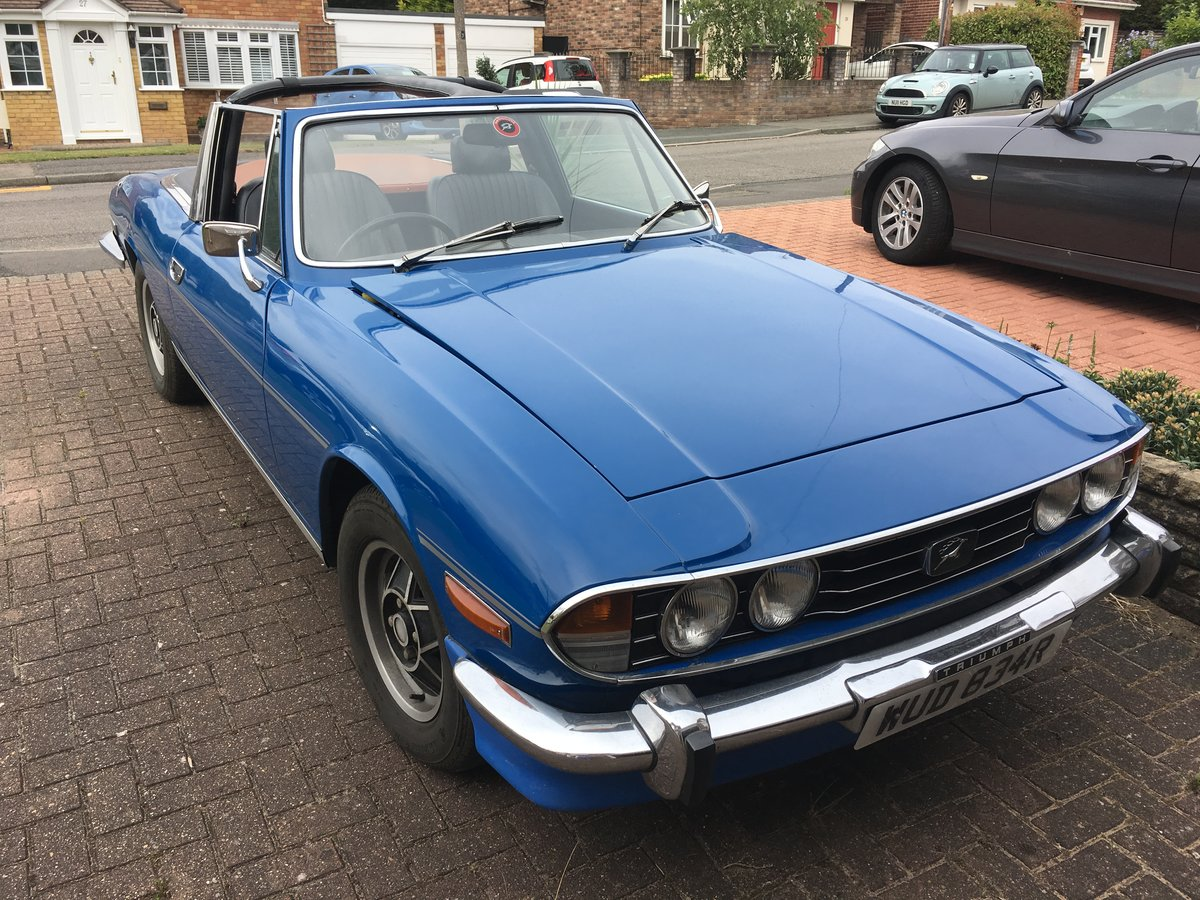 1976 Triumph Stag Automatic For Sale (picture 2 of 6)