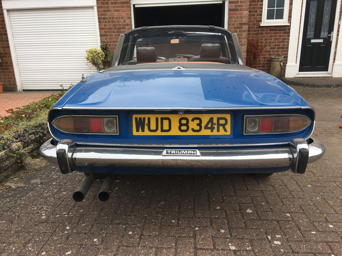 1976 Triumph Stag Automatic For Sale (picture 3 of 6)