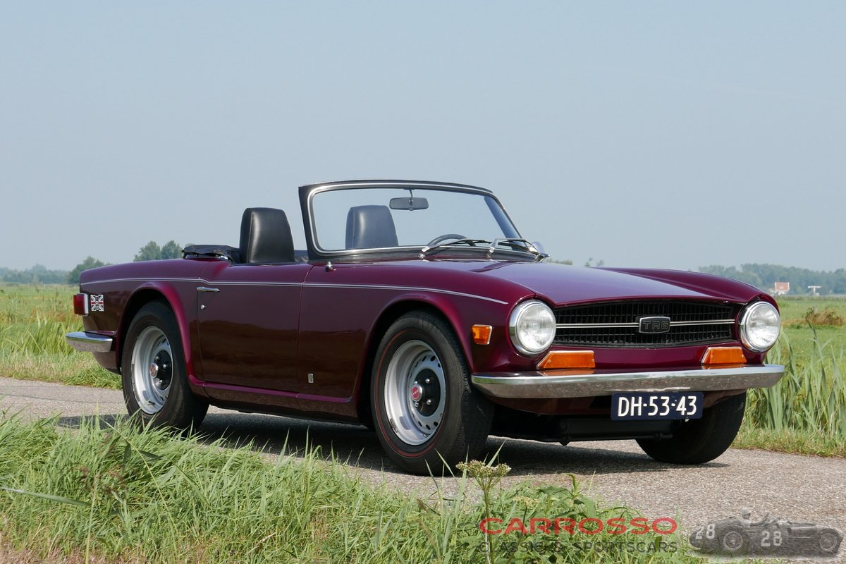 1971 Triumph TR6 in good condition For Sale (picture 1 of 6)