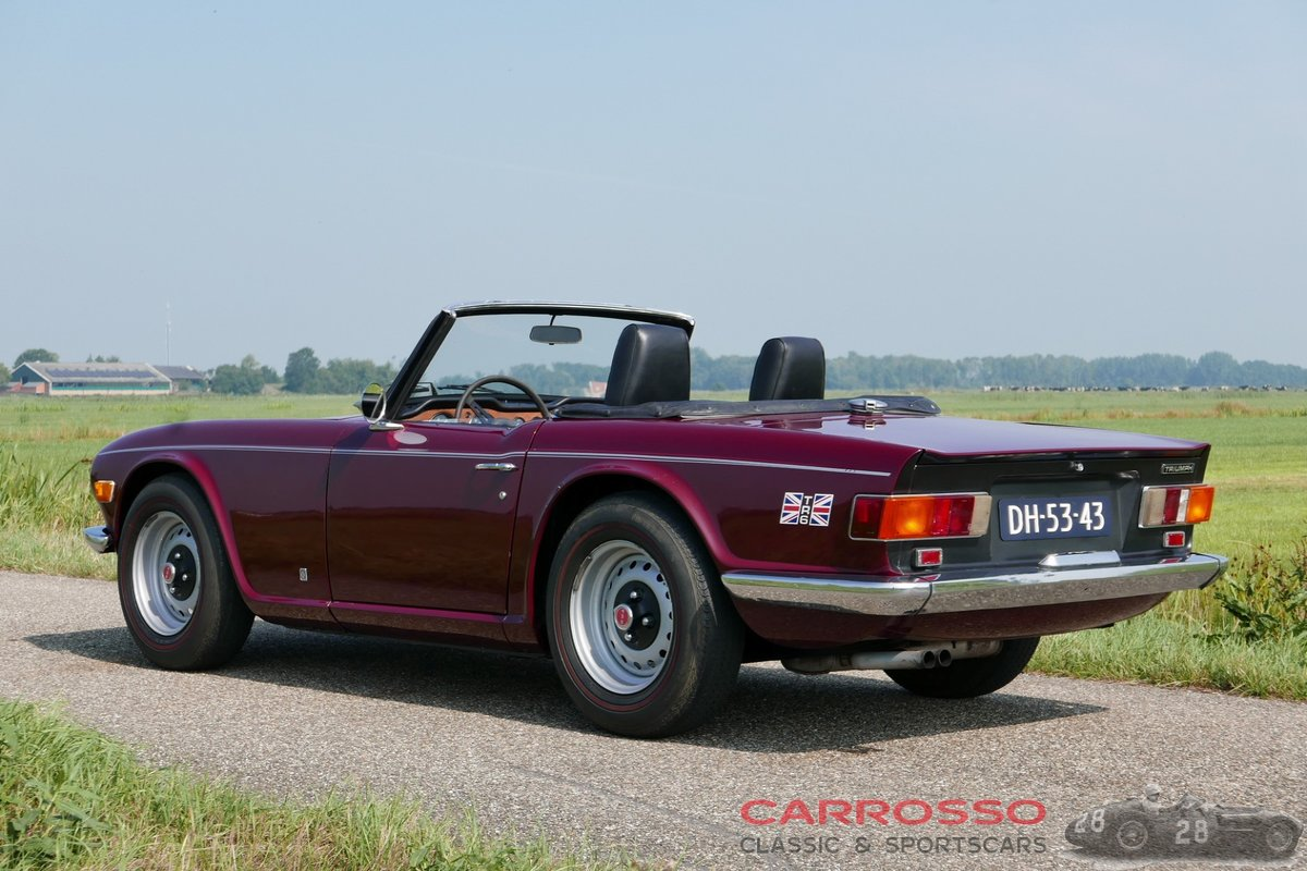 1971 Triumph TR6 in good condition For Sale (picture 2 of 6)
