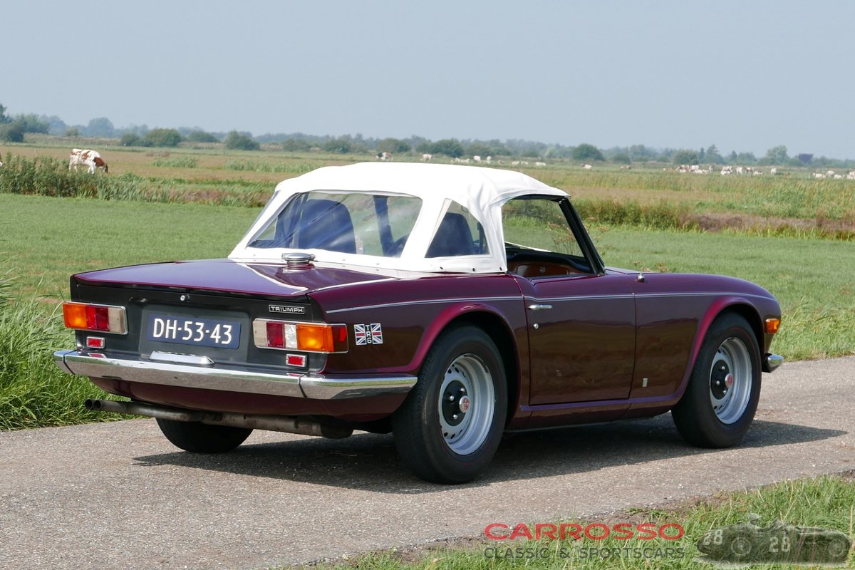 1971 Triumph TR6 in good condition For Sale (picture 6 of 6)