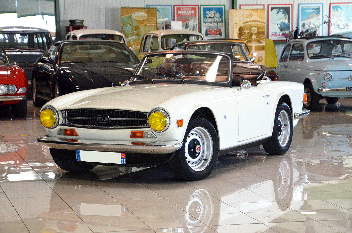 1973 Triumph TR6 - RHD - Superb + Hard top For Sale (picture 1 of 6)