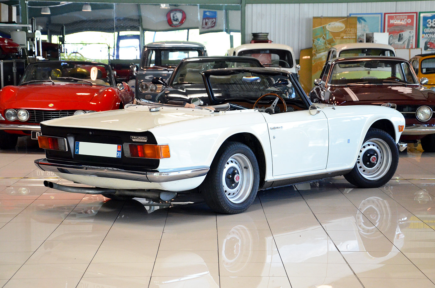 1973 Triumph TR6 - RHD - Superb + Hard top For Sale (picture 3 of 6)