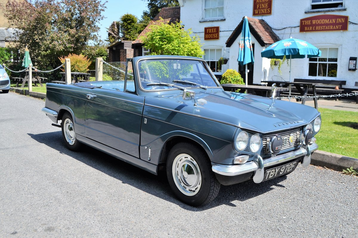 1968 Triumph Vitesse Mk 1 2.0 litre convertible SOLD (picture 1 of 5)