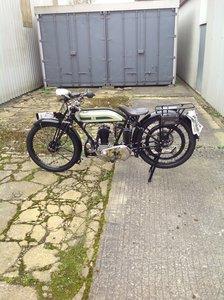 1926 Triumph model q