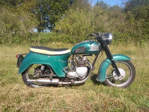 1961 Triumph 350 Tiger Twenty-one 21