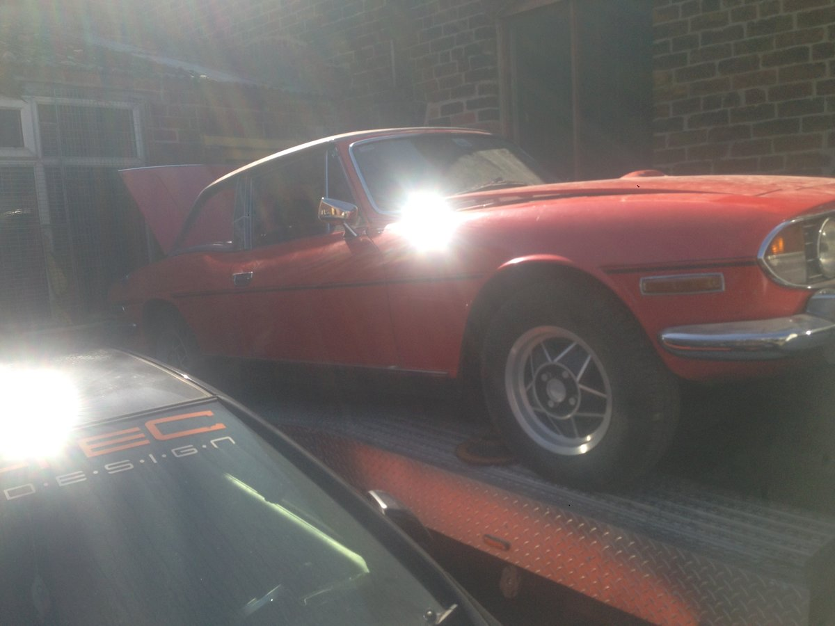 1974 Triumph Stag V8  For Sale (picture 1 of 6)