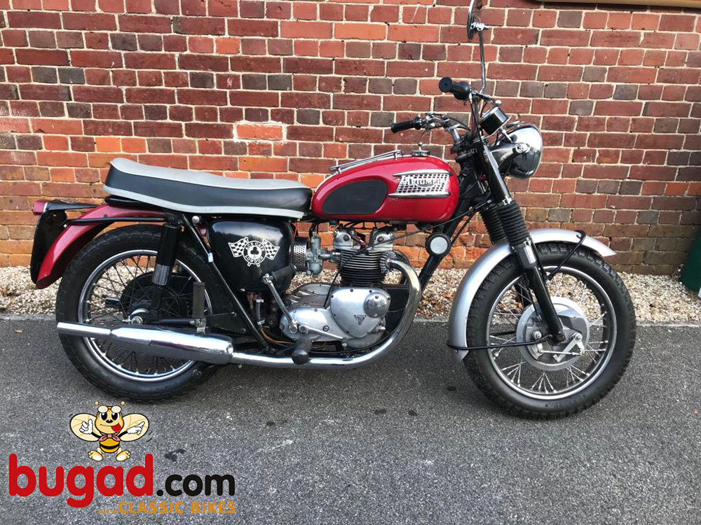 Triumph T100SS - 1963 Reg - 500cc Tiger 100, Lovely Engine SOLD (picture 1 of 6)