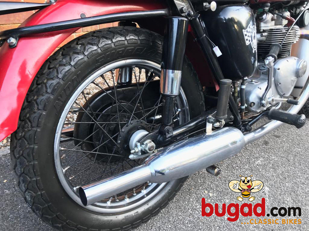 Triumph T100SS - 1963 Reg - 500cc Tiger 100, Lovely Engine SOLD (picture 4 of 6)