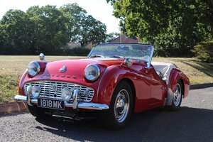 Triumph TR3A 1960 - To be auctioned 25-10-19 For Sale by Auction