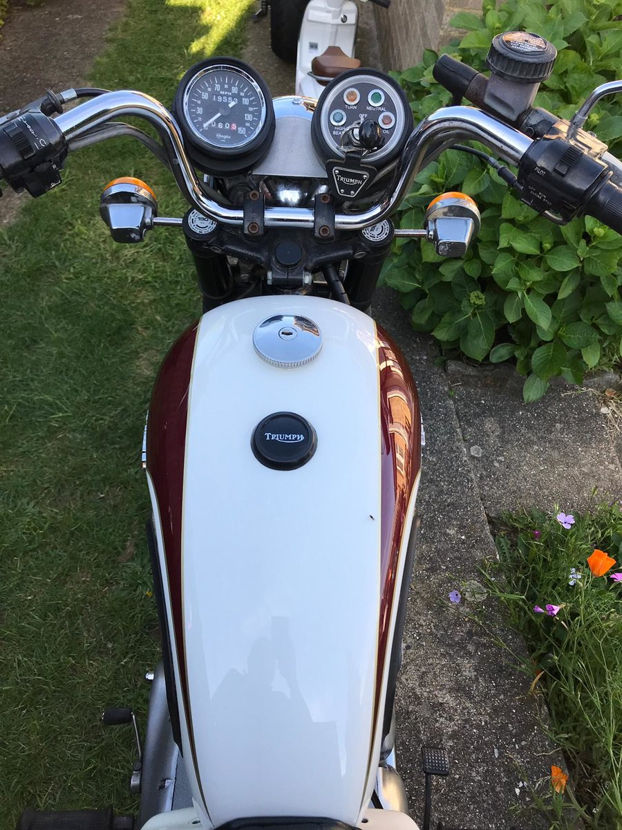 1982 Triumph thunderbird TR65 For Sale (picture 6 of 6)