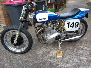 Triumph Flattracker race bike