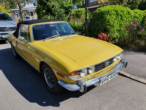 1974 Triumph Stag 3.0L V8 (original engine)