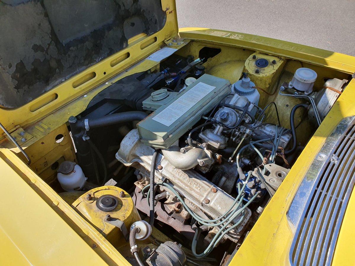 1974 Triumph Stag 3.0L V8 (original engine) For Sale (picture 3 of 6)