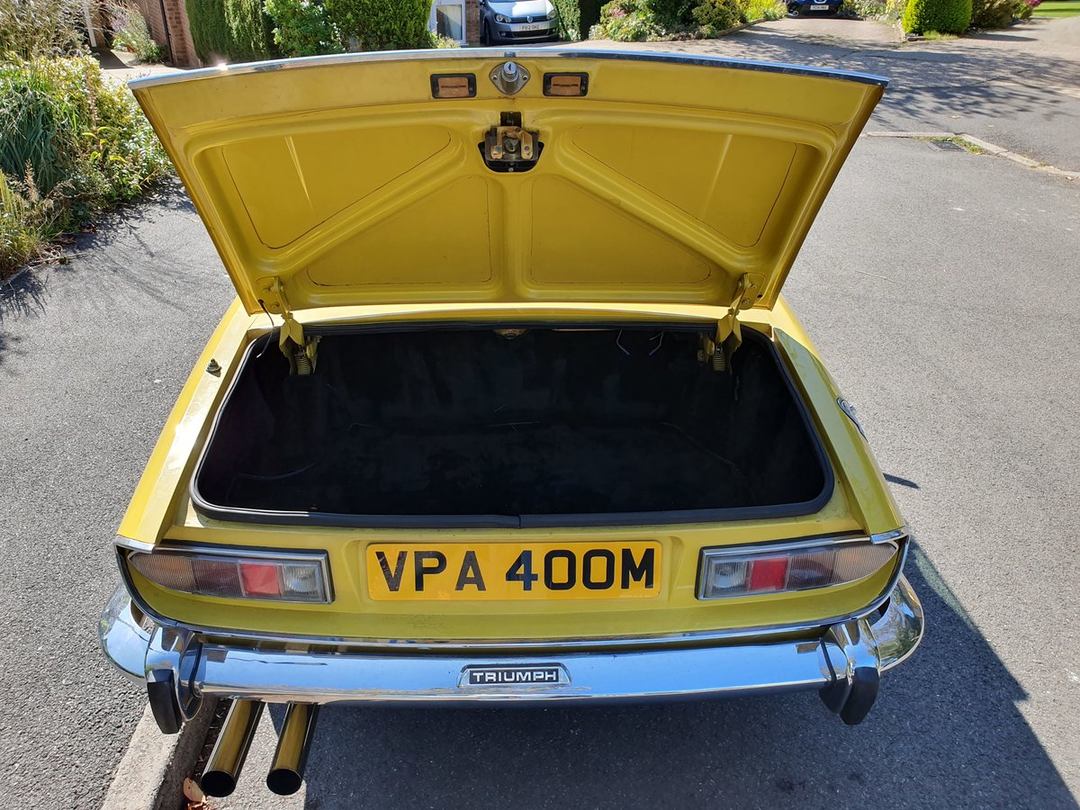 1974 Triumph Stag 3.0L V8 (original engine) For Sale (picture 4 of 6)