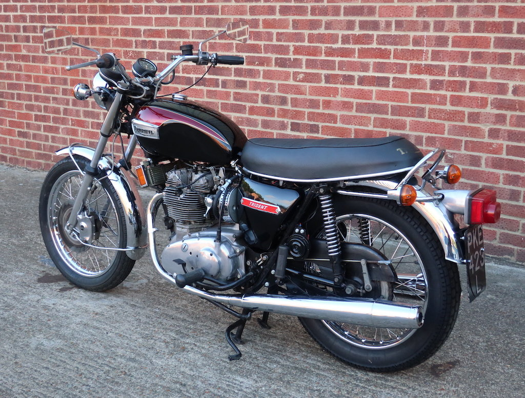 1973 Triumph T150V Trident For Sale (picture 5 of 6)